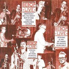 Bebop LIVE CD Peter King/Art Themen/Al Heig/Ken Baldock/Allan Ganley 1982