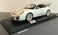 Maisto 2011 Porsche 911 GT3 RS 4.0 2020 Special Edition New Release White #31703