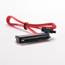 SAS HDD SFF-8482 to SATA SAS Ports Data Cable + 15Pin Power Connector 50CM CA