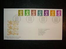 1991 nuevo valores definitivos Royal Mail FDC & Windsor, Berks Shs Cv £ 14