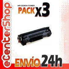 3 Toners Compatibles HP CE285A NON-OEM para HP Laserjet P1102 w