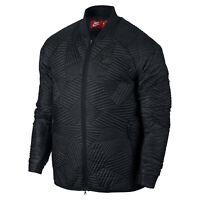 Nike Men's Sportswear Synthetic Fill Quilted Bomber Jacket Size M 864946-010