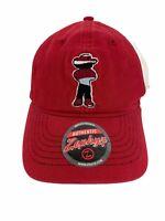 Rare Nebraska Cornhuskers Trucker Mesh Snapback Red White Black Zephyr Cap Hat