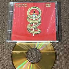 TOTO IV JAPAN 24k GOLD SBM CD SRCS6997 w/PS Booklet+Picture CD Free S&H/P&P