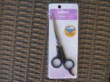 """stainless steel sharp scissors titanium coated barber hairdressing shears 6 1/2"""""""