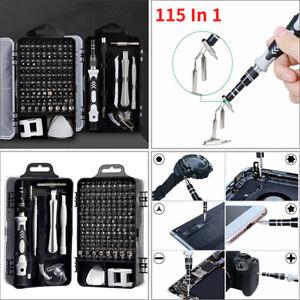 115IN 1 Screwdriver Set Precision PC Computer Phone Watch Repair Tool Bits Kit