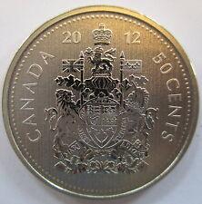 2012 CANADA 50 CENTS SPECIMEN HALF DOLLAR COIN