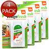 4 x FRIDGEFRESH FRIDGE ODOR REMOVER ODOUR NEUTRALIZER 90 DAYS REFRIGERATOR BULK