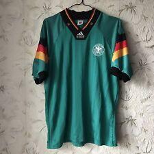 Vintage Germany  Away football shirt 1992 - 1994 Adidas Soccer Jersey Size 42-44