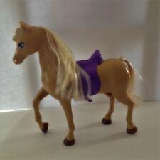 Mattel BARBIE'S HORSE TAWNY Purple Saddle BARBIE DOLL PET