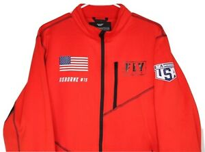 Fly Racing Mid-Layer Jacket Mens Winter Cold Weather Coat Team USA Osborne, L
