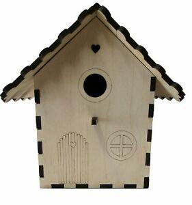 Fairy Garden Bird Box Wildlife Nest Box Kit Birdhouse Bird Nesting Box Project