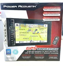 "Power Acoustik PDN-626B Double DIN GPS Navigation DVD/CD/AM/FM 6.2"" Screen NEW"