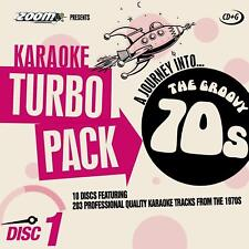 Zoom Karaoke CD+G Turbo Pack - 70's Hits 10 Disc Karaoke Pack