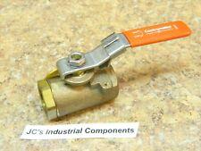 "Contromatics  ball valve with downstream pressure exhaust  3/4"" npt   175 psi"