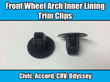 20x Clips For Honda Civic Accord Front Wheel Arch Inner Lining Trim Black *