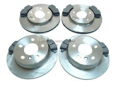 MERCEDES A CLASS A190 1998-2004 FRONT & REAR BRAKE DISCS AND PADS SET NEW