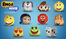 NEW McDonald's 2017 Emoji Movie Plush Happy Meal Toy #6 Dice New In Packaging