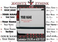 """2.5"""" Personalized Name Custom Text Vinyl Decal Sticker Lettering for Window car"""