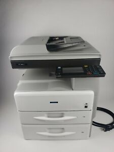 Richo Savin MP 301SPF Copier/Scanner/Facsimile/ Printer With Extra Paper Tray