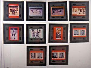 Original 1960's Hockey Sports Illustrated Negatives Lot of 10