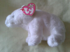 TY BEANIE BABIE FRIDGE THE POLAR BEAR WITH TAG FREE PP