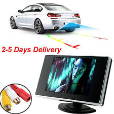 3.5 Inch TFT LCD Car Color Rear View Monitor Screen for Parking Rear View Backup