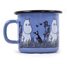 Moomin - Blue Moomin Muurla Enamel Mug - 25 cl