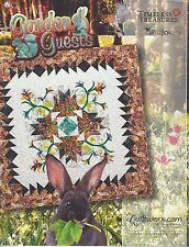 Garden Guests Foundation Paper Pieced Quilt Pattern by Judy Niemeyer NEW