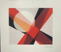 Laszlo Moholy-Nagy - A-19, litografia, 30x35 cm, Guggenheim, New York, 1927