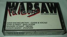 WARSAW FALCONS Live Digital Recording (1989) Cassette Private Rockabilly Rock