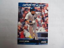 2001 Topps Stadium Club Capture the Action! #CA6 Derek Jeter N.Y Yankees Insert
