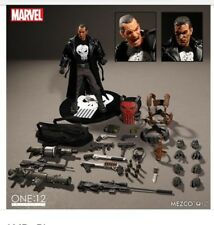 Mezco One:12 Marvel Punisher PX Previews Fully Loaded Exclusive Never removed