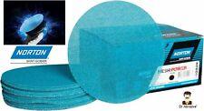 "Norton 150mm 6"" MeshPower Abranet Sanding Discs Mesh Net Wet or Dry DUST FREE"