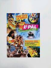 Freizeitpark - Le Pal - Prospektmaterial - 2002
