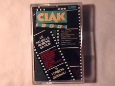 MC Ciak - le più belle musiche da film cassette k7 GENESIS COME NUOVA LIKE NEW