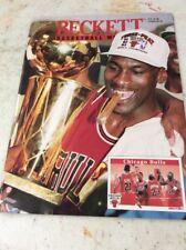 Beckett Basketball Magazine Monthly Price Guide September 1993 Michael Jordan