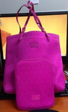 Michael Kors MK Neoprene Zinnia Pink Tote Handbag