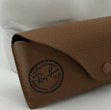 Ray-Ban Authentic Brown Leather Case