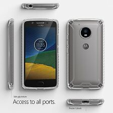 "Poetic Affinity ""Slim Fit Protective Bumper"" Case For Motorola Moto G5 Clear"