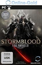 FINAL FANTASY XIV STORMBLOOD Key - FF14 A Realm Reborn Addon DLC PC Code [EU/DE]