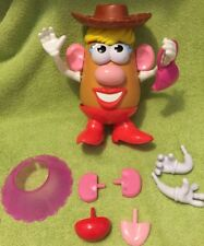 Playskool Mrs. Potato Head Cowgirl Toys Extras 19 Pieces Total