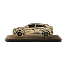 Car Wood Figurine Lamborghini Urus Plywood Sideview Statuette Gift Figuritaarbol