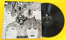 """THE BEATLES (33 RPM-ITALY) PMCQ 31510 """"REVOLVER"""" (STEREO COPY) WITH SILVER STAMP"""