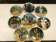 Full Set of 8 Knowles Wizard of Oz Collector Plates Gently Used