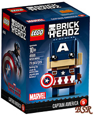 LEGO® Brick Headz 41589 Captain Amerika & 0.-€ Versand & NEU & OVP !