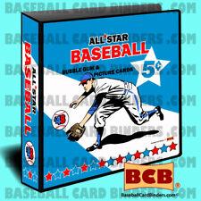 1948 Leaf -Style Baseball Card Binder. BCB©