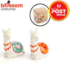 Ceramic Novelty Salt and Pepper Shakers Shaker Set Alpaca