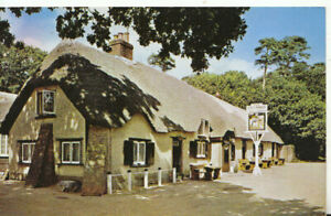 Hampshire Postcard - Cat and Fiddle Inn - New Forest - Ref TZ5960