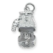 Sterling Silver Opening Boxing Glove Pendant